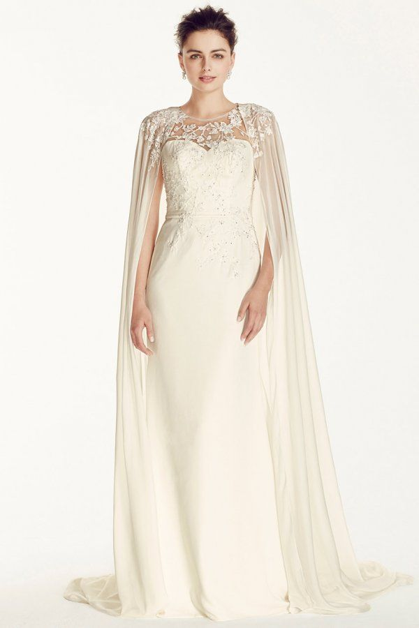 b5a7785471e Wedding gown by Oleg Cassini at David s Bridal