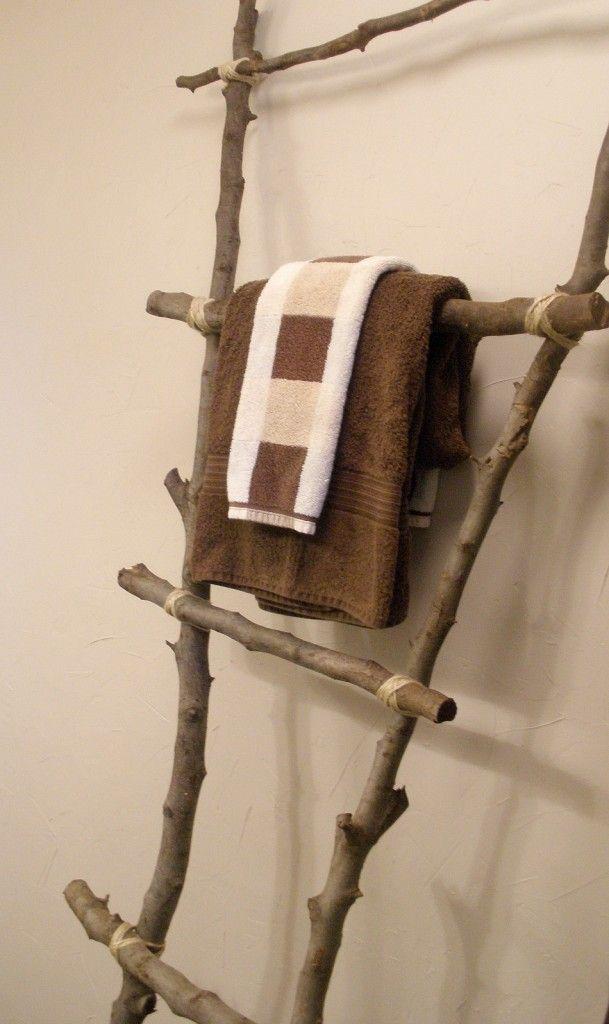 Diy Tree Branch Ladder Love Tree Branch Decor