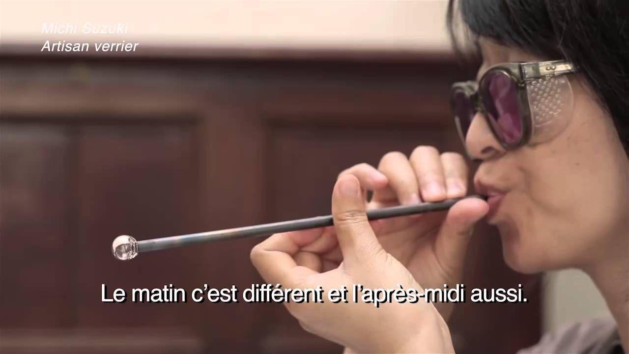 Rencontre avec Michi Suzuki, artisan verrière au chalumeau