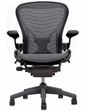Aeron Chair By Herman Miller Home Office Desk Task Chair Fully Loaded Highly Adjustable Wit Best Office Chair Office Chair Design Most Comfortable Office Chair