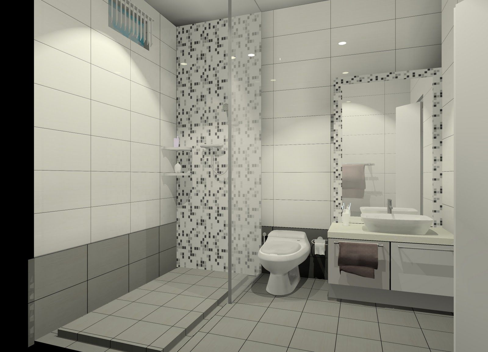 toilet tiles design | Toilet ideas | Pinterest | Toilet tiles design ...