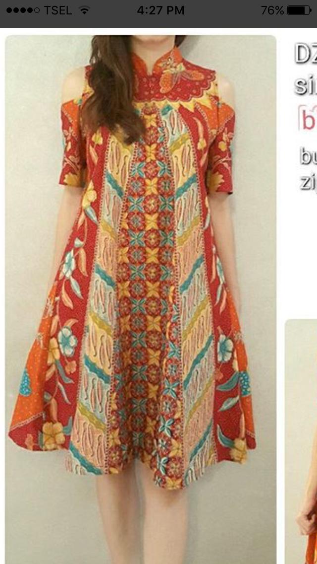 To Make Batik Batik Dress Blouse Batik Model Dress Batik