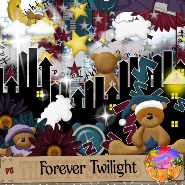 Soxsational Scraps: Forever Twilight Was PTU Now FREE!!!