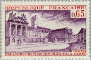 Palace of the Dukes of Bourgogne in Dijon