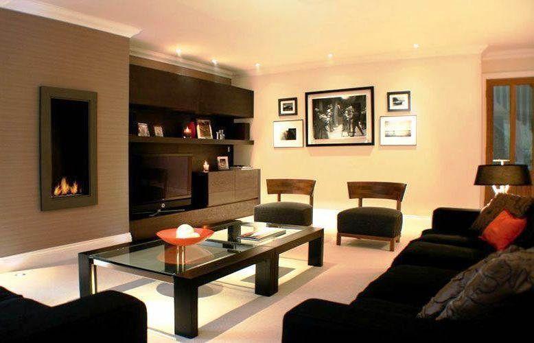 Warna Cat Dinding Ruang Tamu Yang Bagus Dark Furniture Living Room Living Room Color Dark Living Rooms
