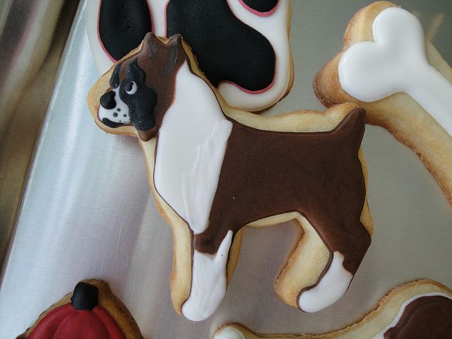 Boxer Cookie Dog Cookies Boxer Dogs
