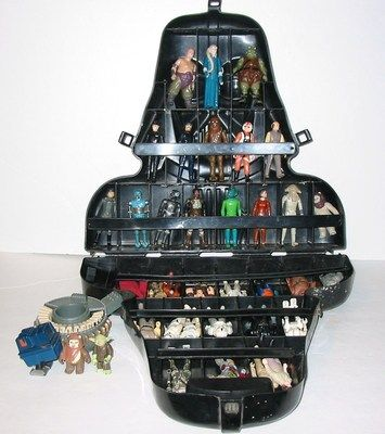Kenner STAR WARS Collection Darth Vader Case Hoth Playset Millenium Falcon