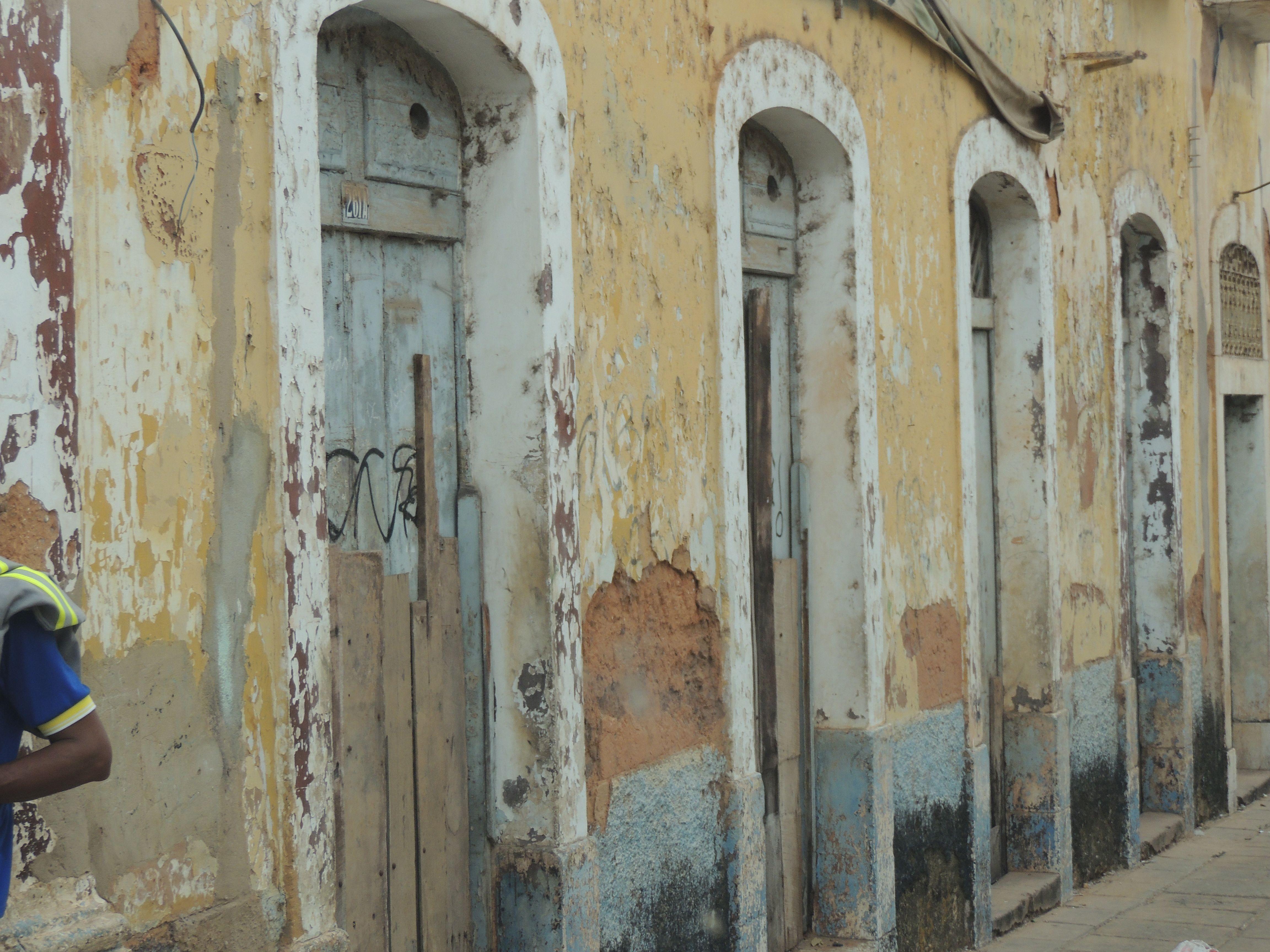 Centro Histórico de São Luis, Maranhão, preservação ainda aguardando cuidados.