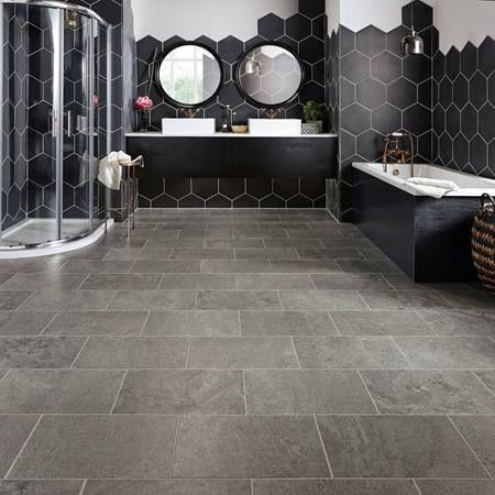 Natural Stone Effect Vinyl Flooring Realistic Stone Floors Floor Tiles Vinyl Flooring Bathroom Bathroom Vinyl Vinyl Flooring