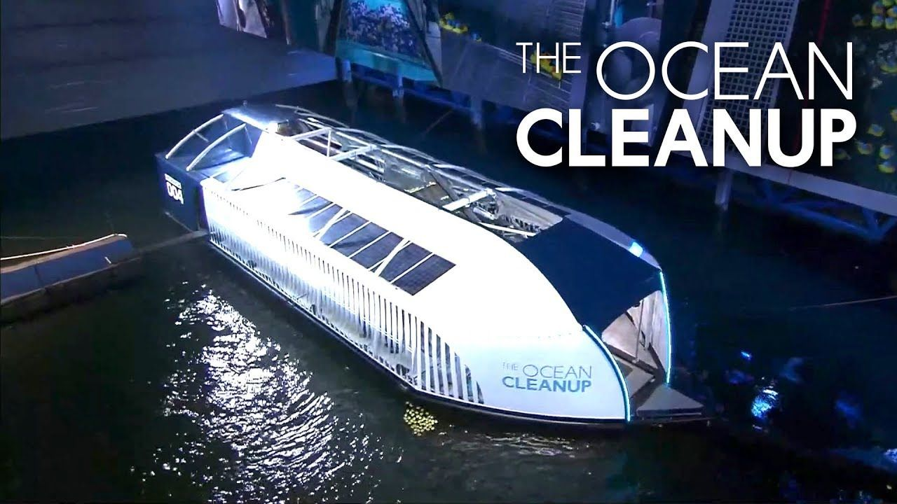 The Ocean Cleanup Unveils The Interceptor A River Based Plastic Catcher Youtube In 2020 Ocean Cleanup Ocean Great Pacific Garbage Patch