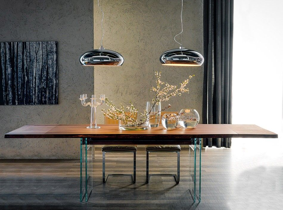 Extendable Dining Table Ikon Drive by Cattelan Italia - $6,695.00 ...