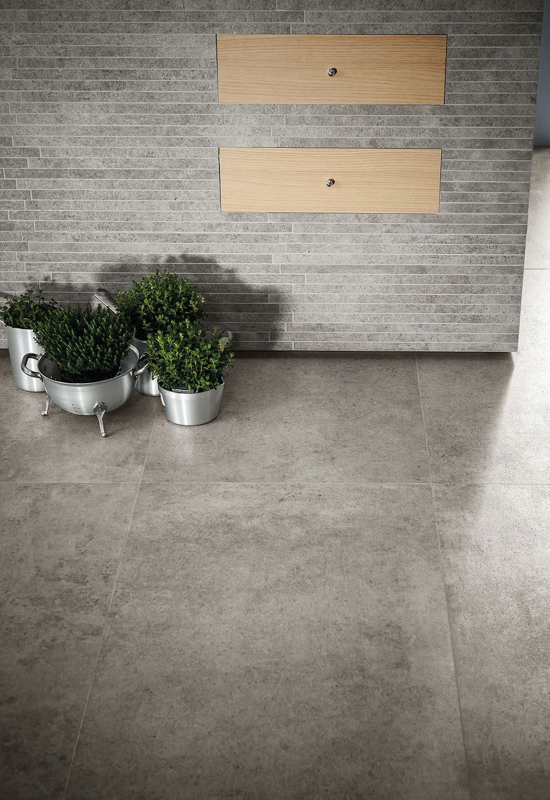 Marazzi Brooklyn Gres Effetto Cemento Exterior Wall Tiles Concrete Floors Tile Floor