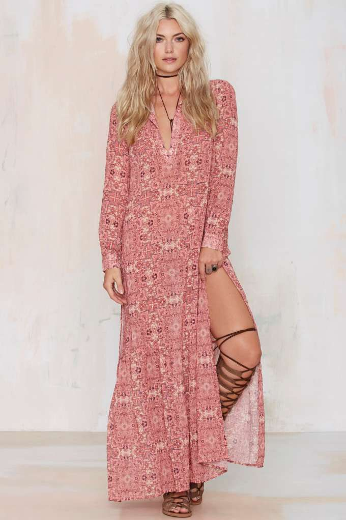 For Love & Lemons Genera Maxi Dress | outfits. | Pinterest | Moda ...
