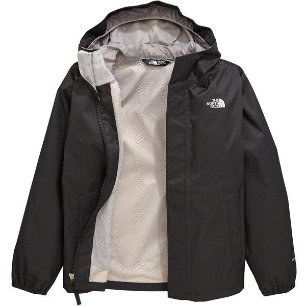 4e32eaf55f0 The North Face The North Face Older Girls Resolve Reflective Jacket (240  BRL) ❤ liked on Polyvore featuring jackets