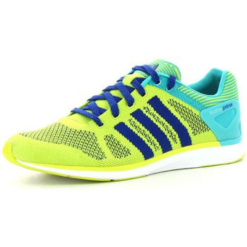 size 40 9322b 8df45 stijlvolle adidas adizero feather prime heren sneakers (Geel)