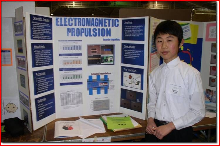 science fair projects for 8th grade