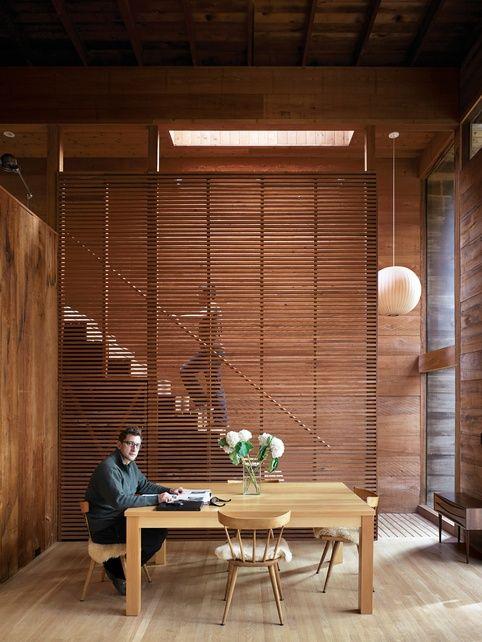 Muros divisorios en madera Room divider Pinterest - muros divisorios de madera