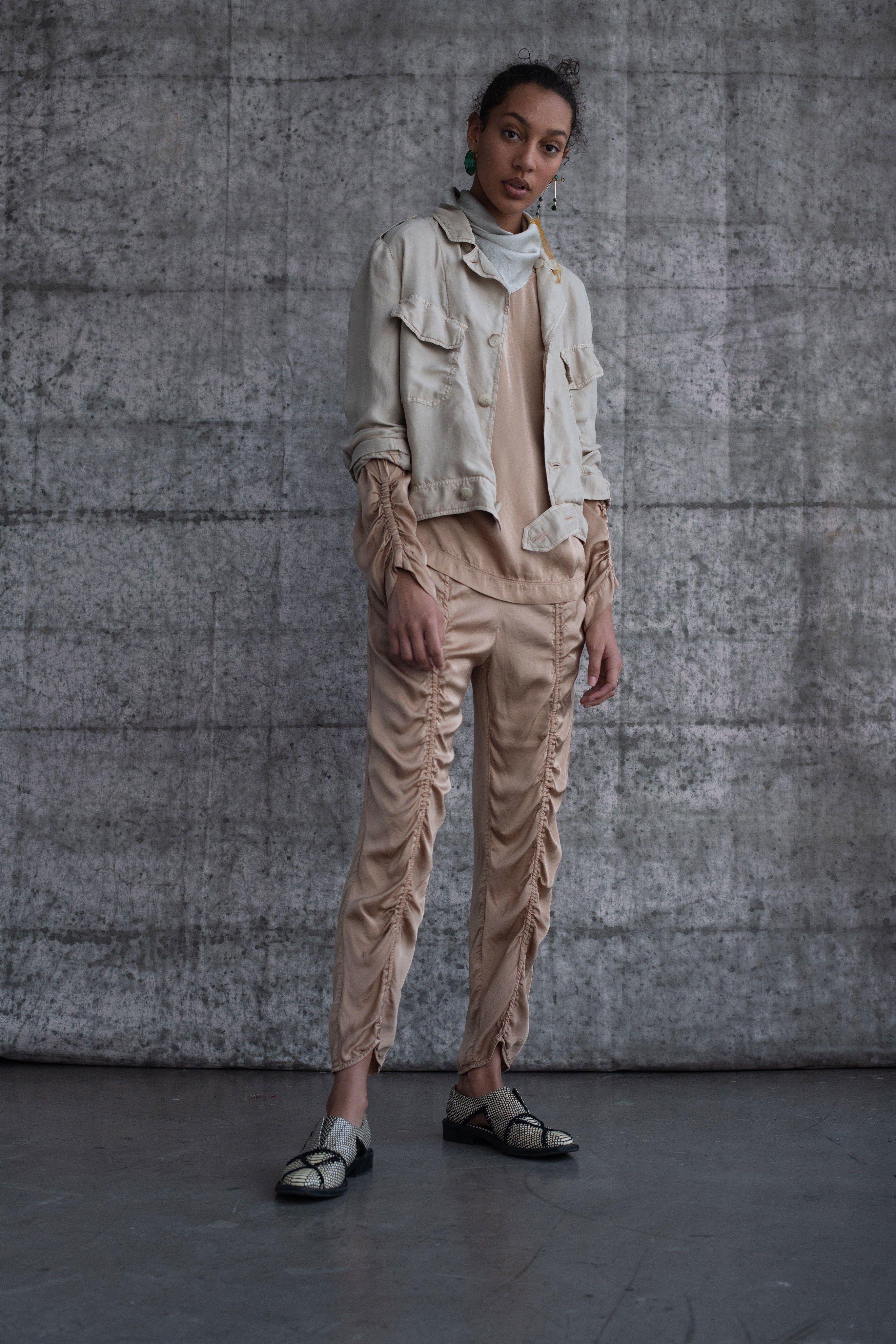 24bb8007d78d Raquel Allegra Pre-Fall 2019 Fashion Show in 2019 | smocking + ...