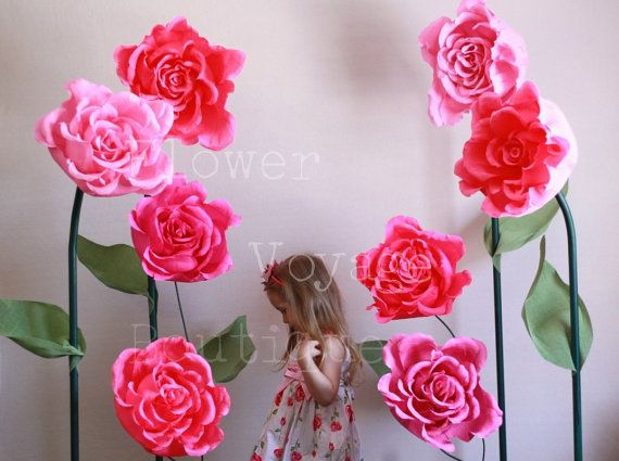 Giant free standing paper flower alice in wonderland photo prop pre close sale giant free standing paper flower alice in wonderland photo props huge self standing backdrop garden party flower wall mightylinksfo