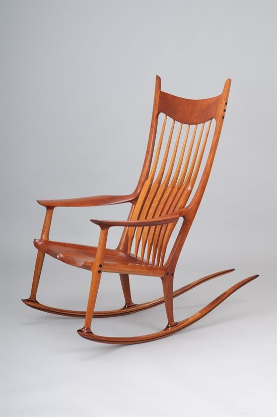 Etonnant A Rare And Important Cherry Rocking Chair By Sam Maloof
