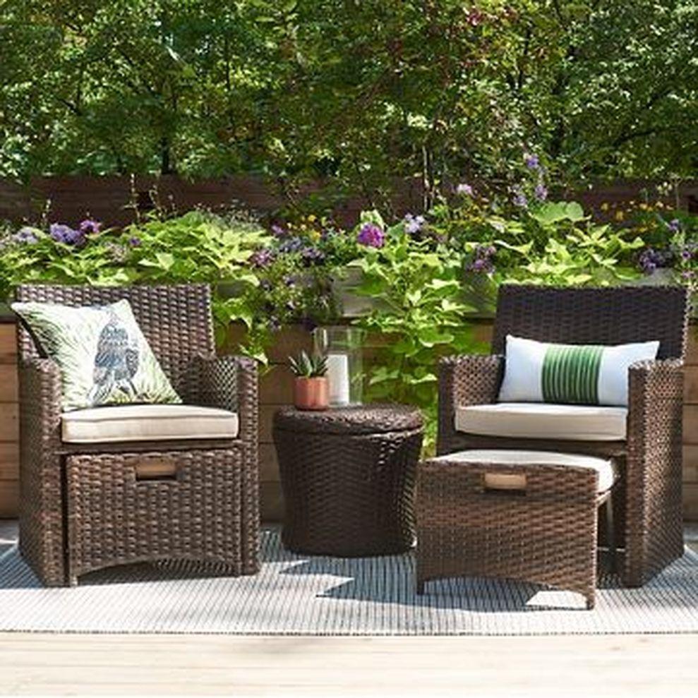 stylish small patio furniture