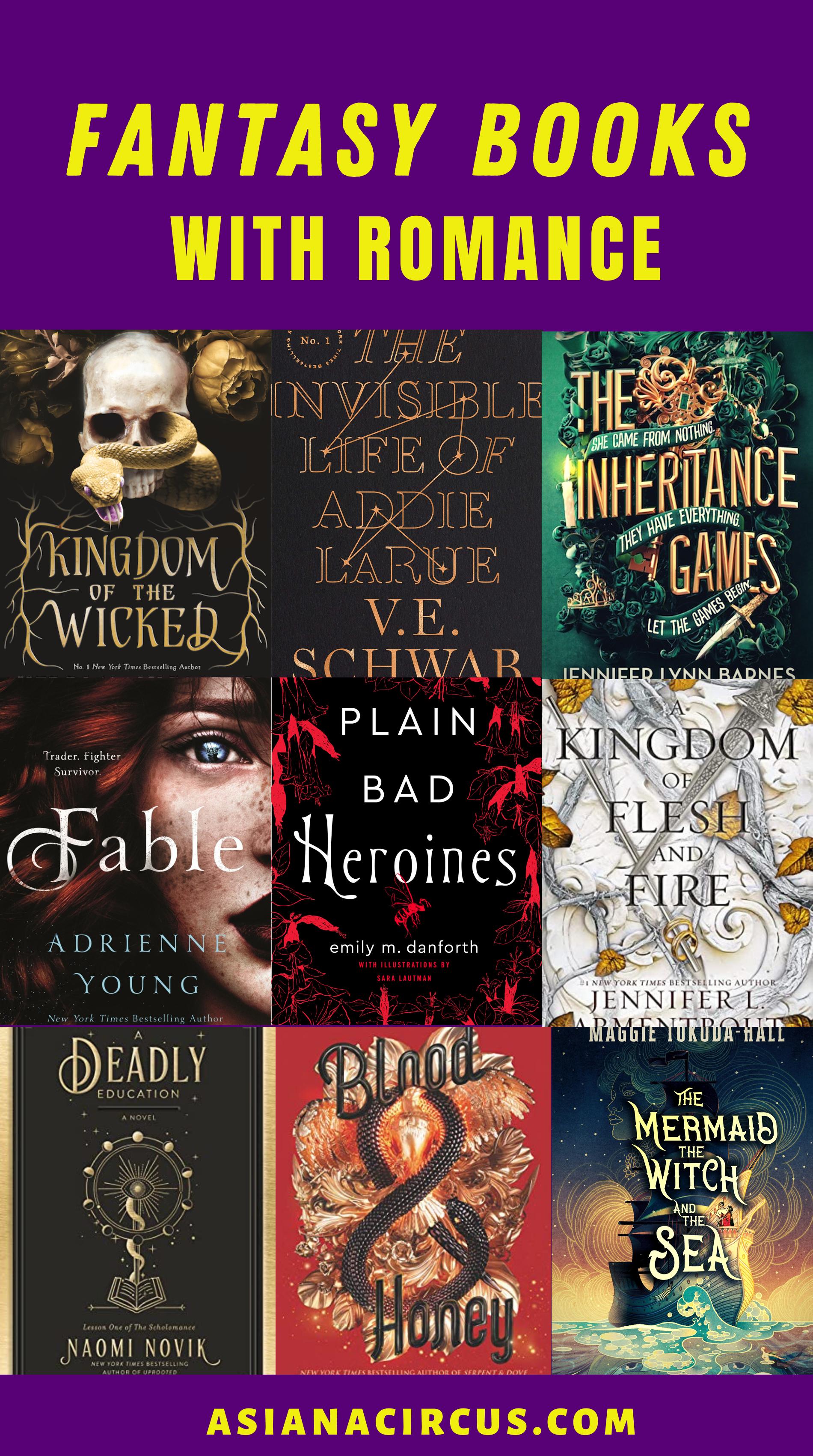 51 Best Romance Fantasy Books Novels To Read 2020 Asiana Circus In 2020 Fantasy Romance Books Fantasy Romance Novels Fantasy Books