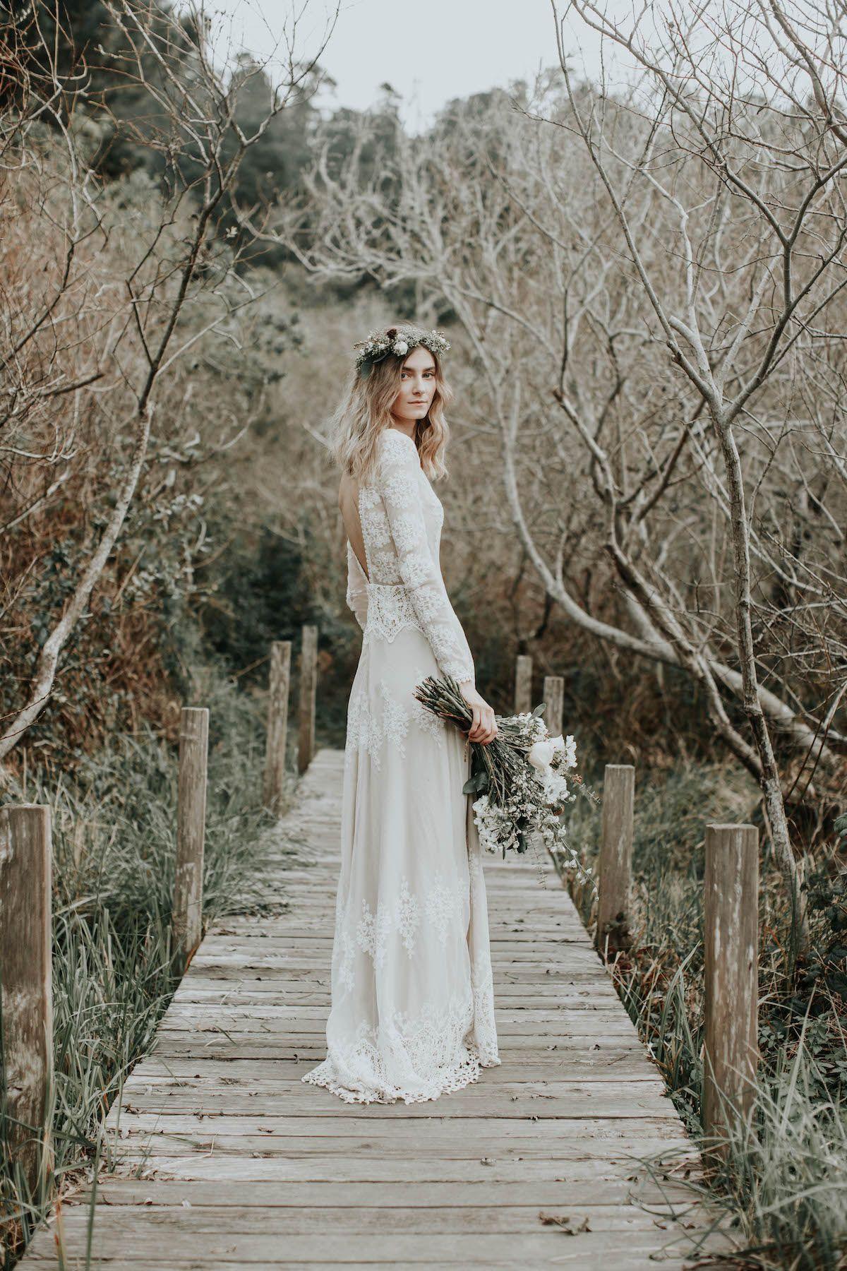 Lisa Lace Wedding Dress Garden Wedding Dresses Boho Wedding Dress Lace Wedding Dresses Lace