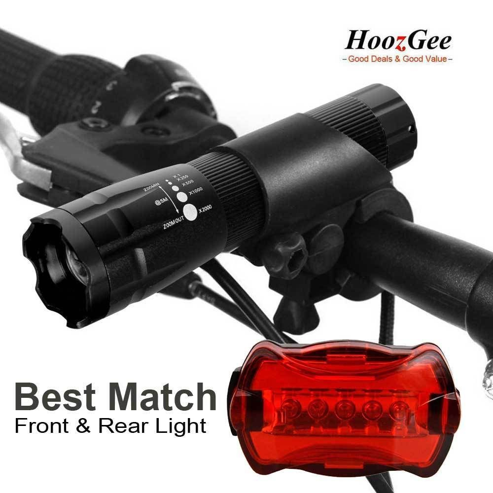 Details About Cree Q5 Led Bike Bicycle Cycling Zoomable Front