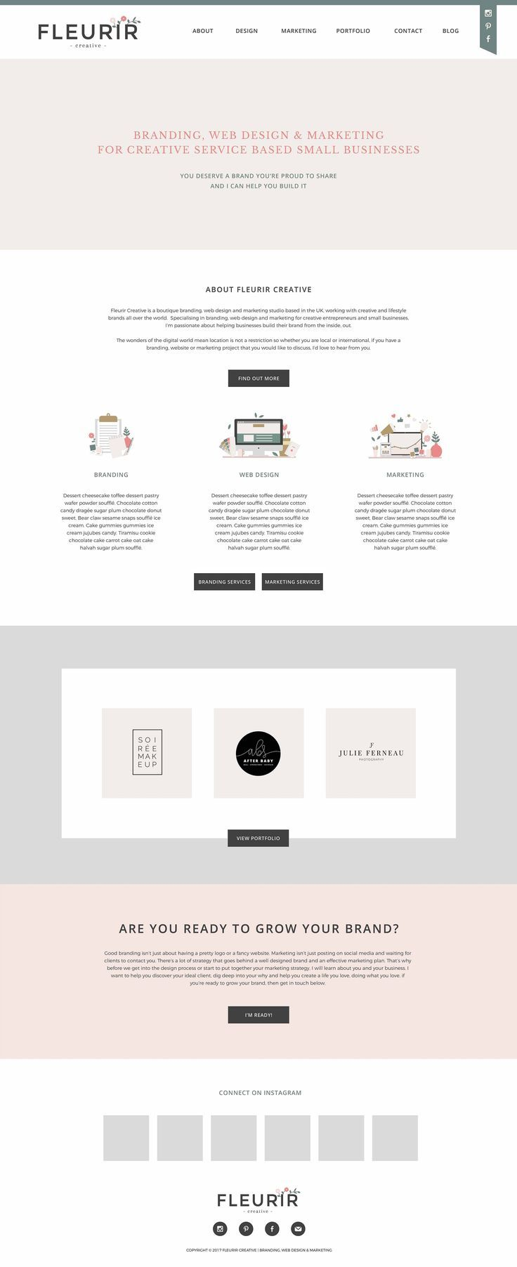 Homepage Designer portfolio homepage design design design and website designs
