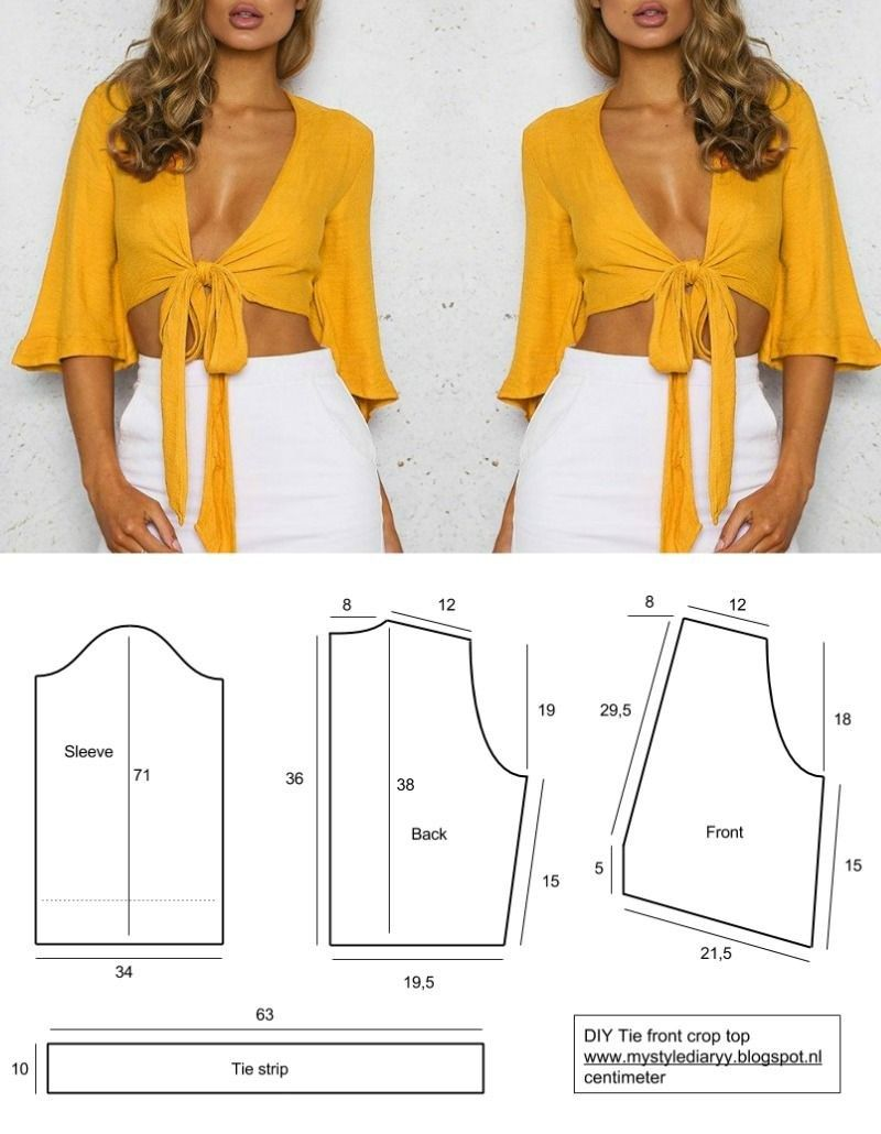 Sewing Patterns Tops