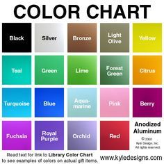 Anodized aluminum colors texture pinterest anodized aluminum colors aluminum metalmetal jewelrykitchenwarediy solutioingenieria Images