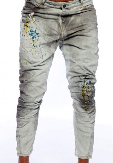 DENIM - Denim trousers Dirty Paint Official For Sale Best Prices Cheap Online Cheap Price Discount Authentic Shop Offer Online t4q6eQk