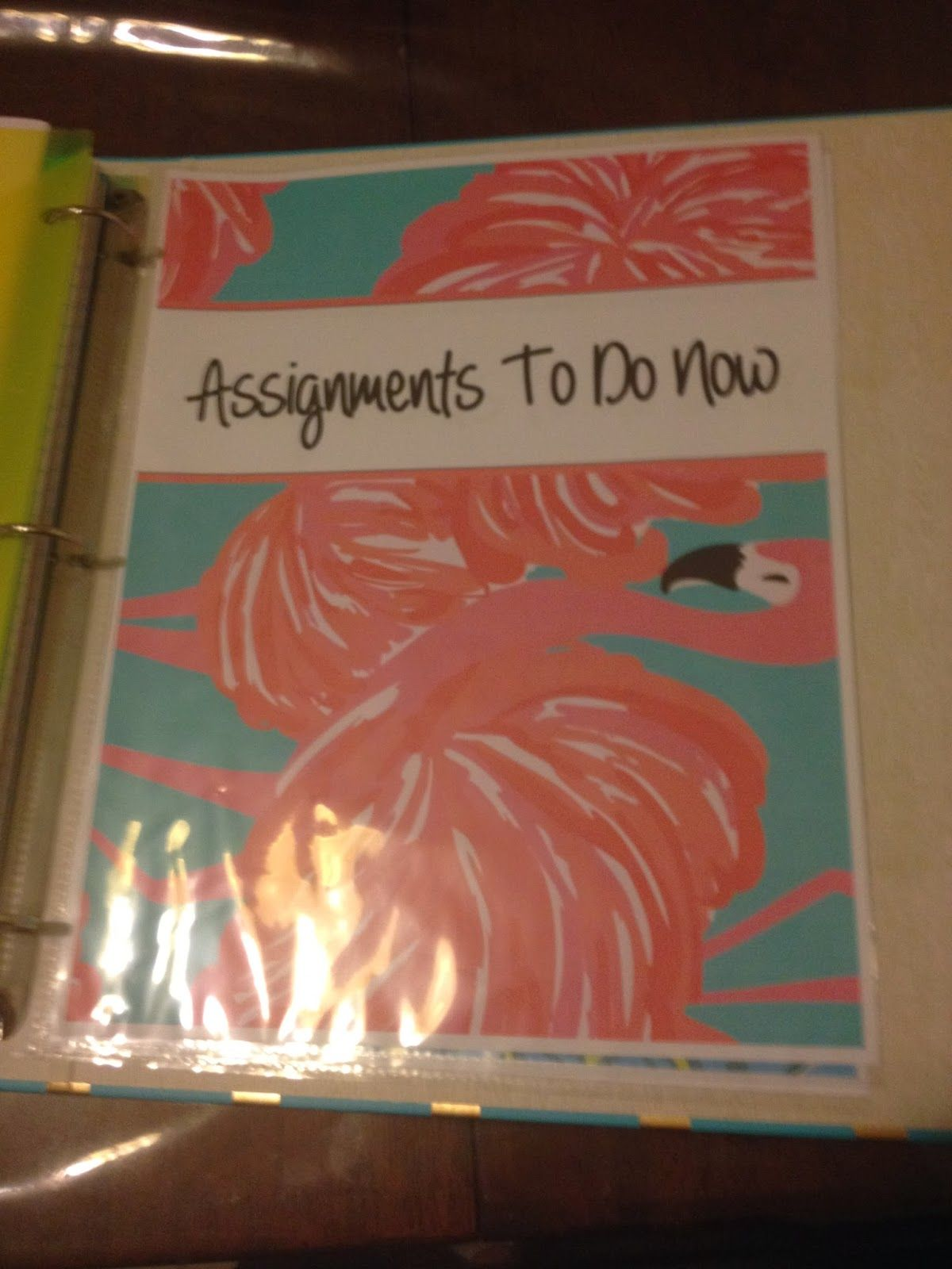 The Holladay Life: How to organize your college binder   DIY