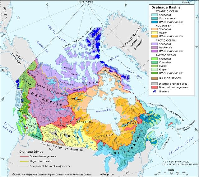 Map The Lakes In Canada Google Search MAPS Pinterest - Major rivers in canada map