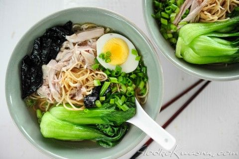 Domowy Ramen Czyli Zupa Z Noodlami Food Ramen Food