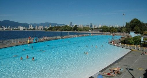 Kitsilano Pool Looks Awesome Entry Fee Parking 7 Full Day 2 Hr Saltwater Pool Pool Vancouver