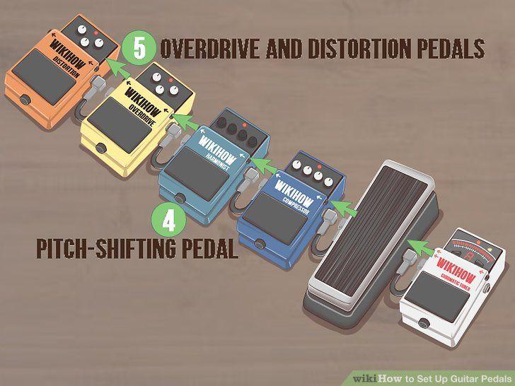 3 Ways to Set Up Guitar Pedals