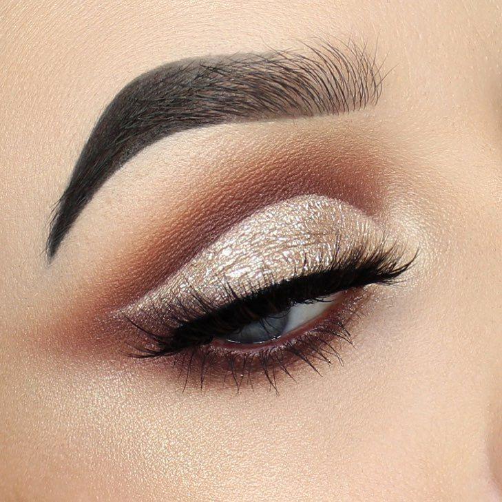 Soft Glam palette in Orange Soda, Burnt Orange, Sienna, and Mulberry, and Amrezy highlight - eye makeup #eyemakeup #makeup