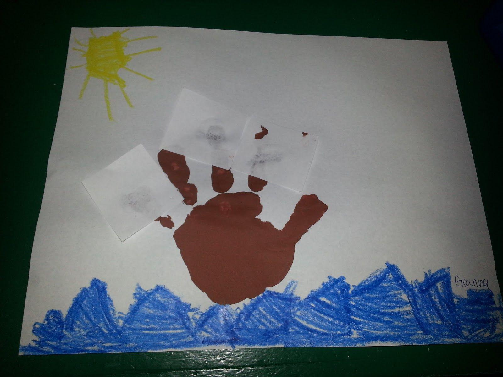 preschool thanksgiving craft may flower or christopher columbus