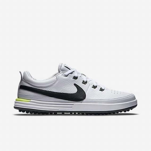 Nike Golf Shoes Mens - Nike Lunarwaverly Dark Grey White Dark Grey