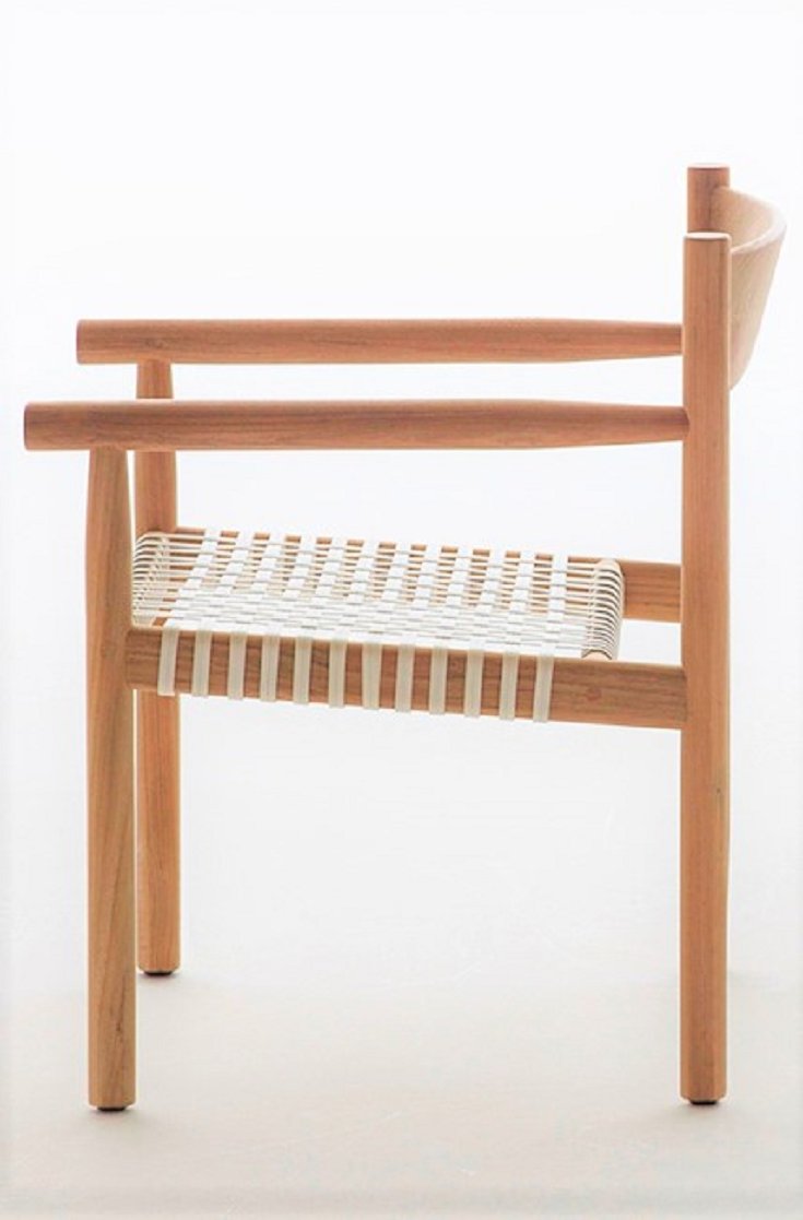 Sleek Teak: A New Outdoor Furniture Collection by Barber & Osgerby