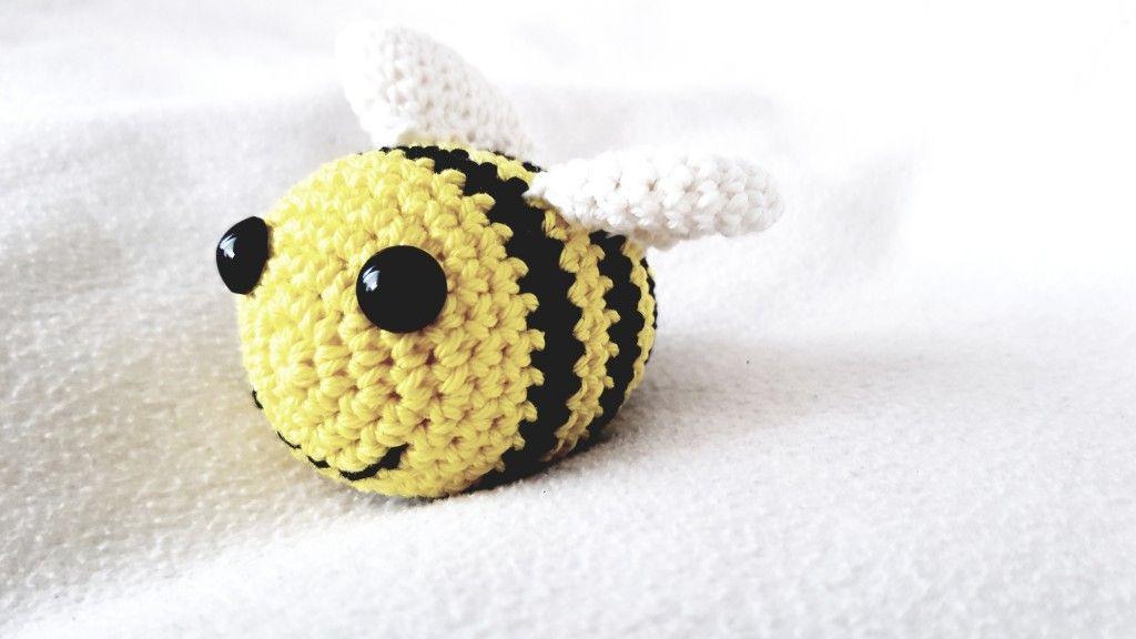 Kostenlose Anleitung Zum Häkeln Von Kleinen Bienen Häkeln