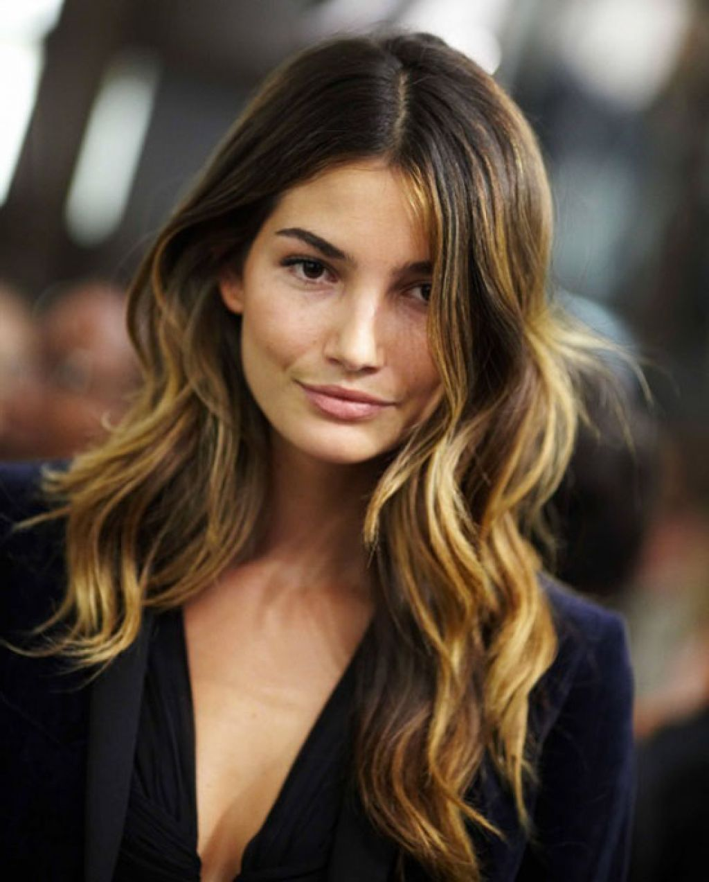 Celebrities Dark Brown Hair With Caramel Highlights Colored Hair Tips Dark Hair With Highlights Ombre Hair Blonde
