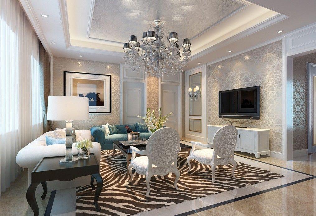 designed living room. wall ideas for living room  interior design lighting TV