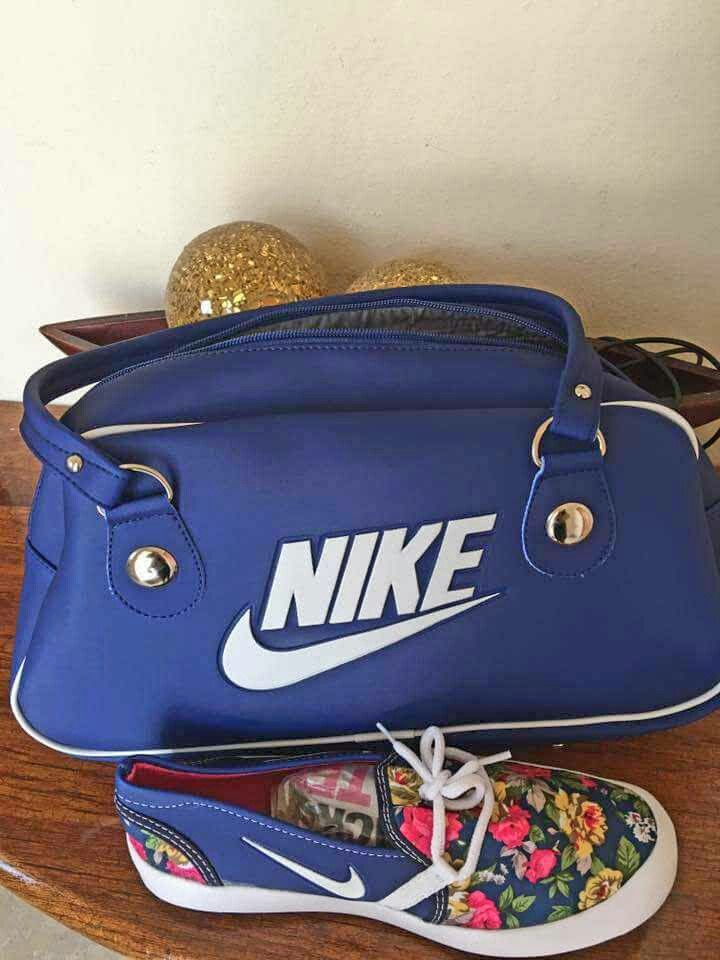 Shoes With Matching Handbag By Nike