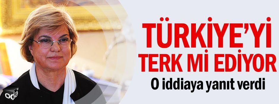 Tansu Çiller Türkiye'yi terk mi ediyor