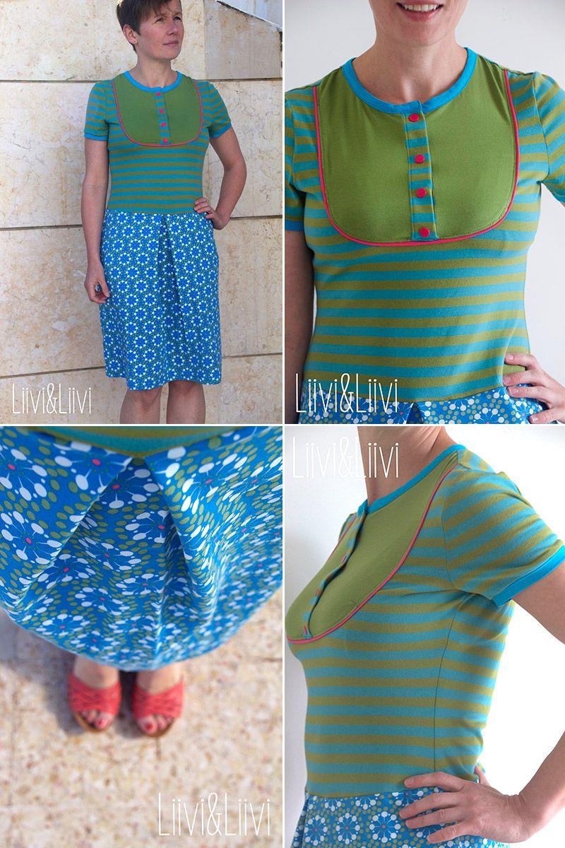 Nähbeispiele Kleid \