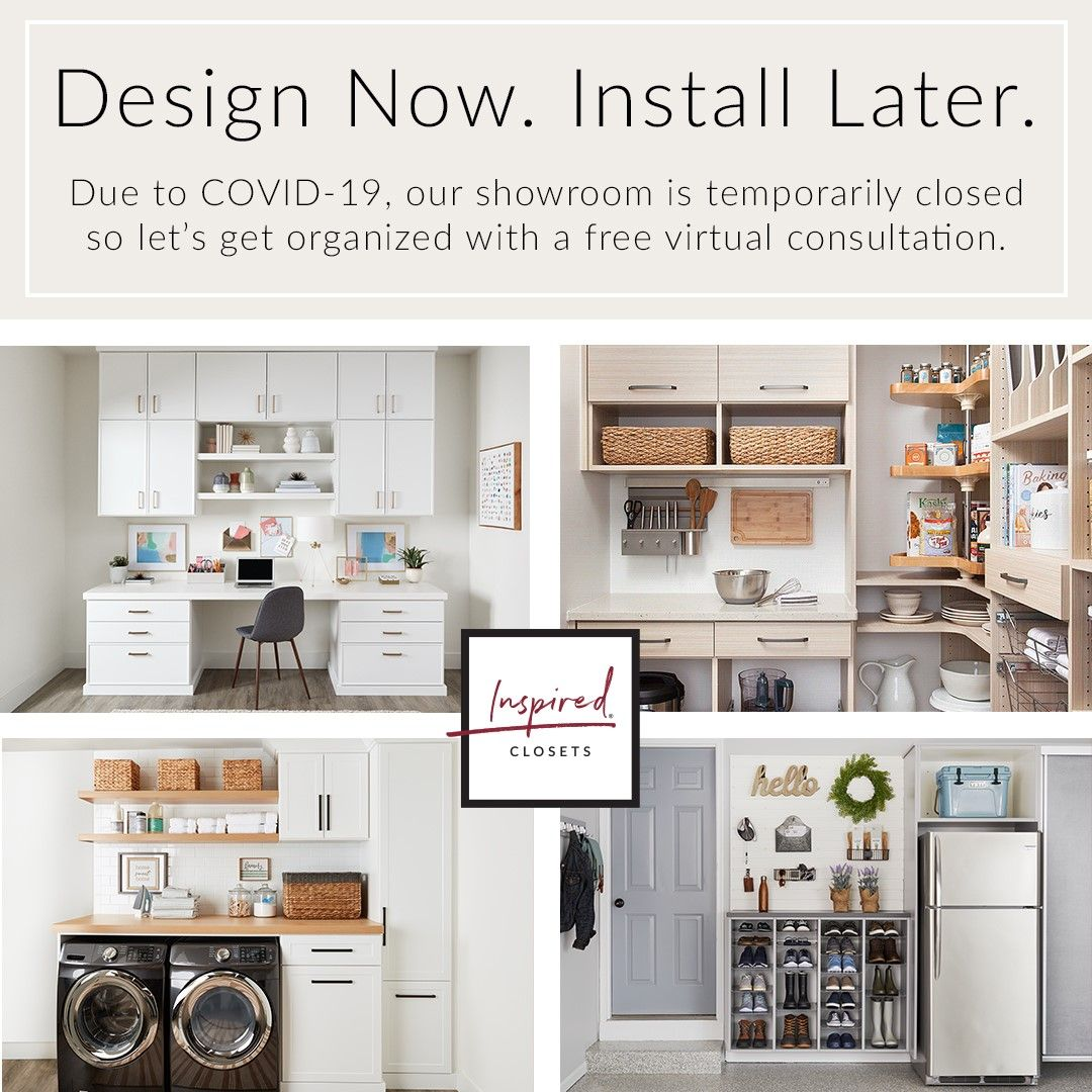 Home Organization Ideas Design Now Install Later In 2020 Custom Closet Design Closet Design Custom Closets