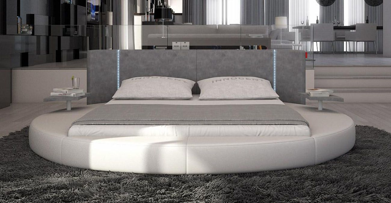20 Of The Most Stylish Looking Platform Beds Bed With Led Lights