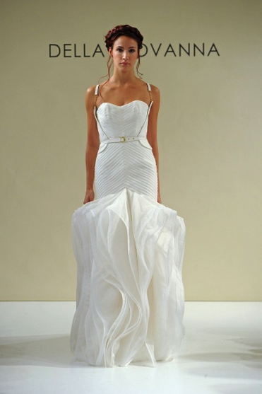 @MarthaWeddings loves @dellagiovanna's new collection - check her out in their gown gallery!
